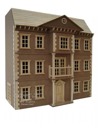 The Mayfair dolls house,  unpainted